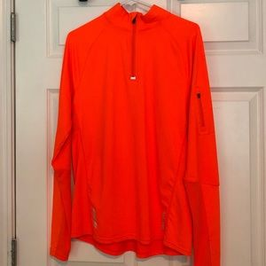 Orange quarter zip!